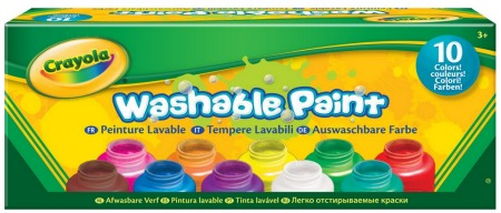 Crayola finger paints washable